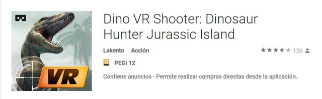 Dino VR Shooter android