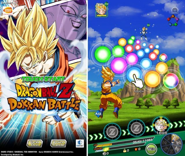 Dokkan Battle juego dragon ball