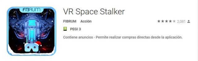 VR Space Stalker android