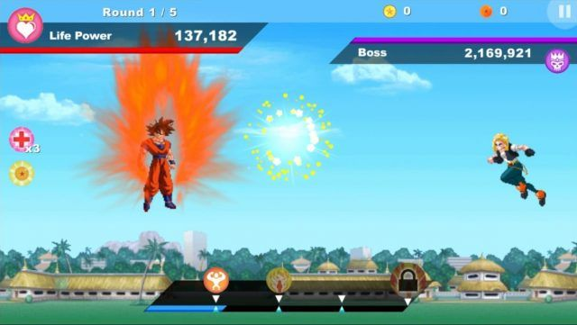 dragon ball supertap