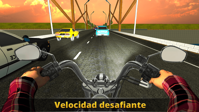 juego VR Traffic Bike Racer